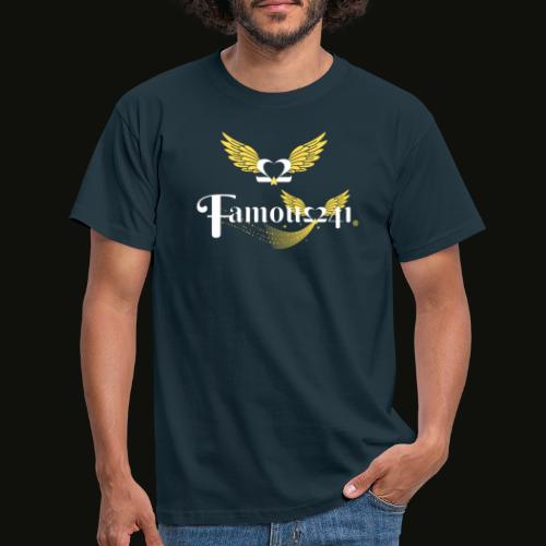 Famousflying heart by famous241💝💖 - T-shirt Homme
