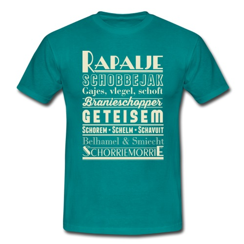 Rapalje - Mannen T-shirt