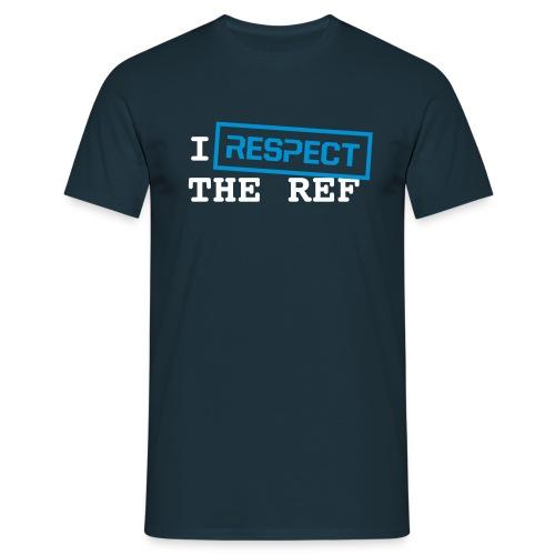 respect ref witbl - Mannen T-shirt