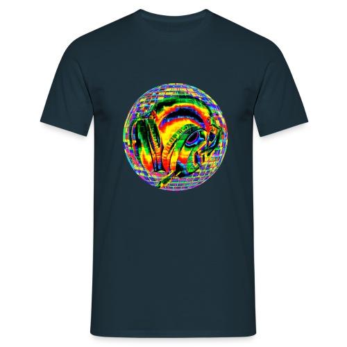 Casque à facettes - T-shirt Homme
