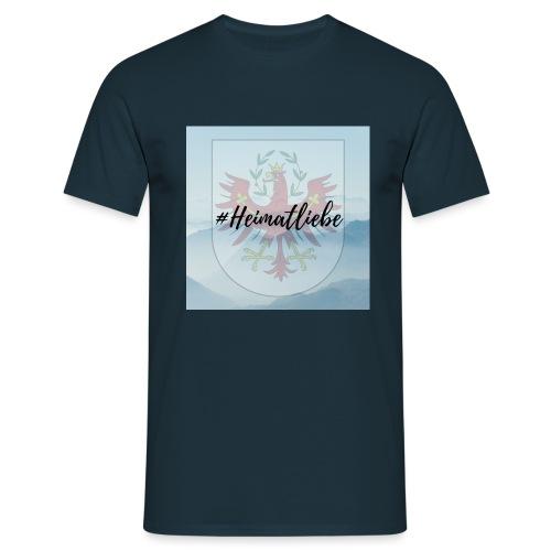 #Heimatliebe - Männer T-Shirt