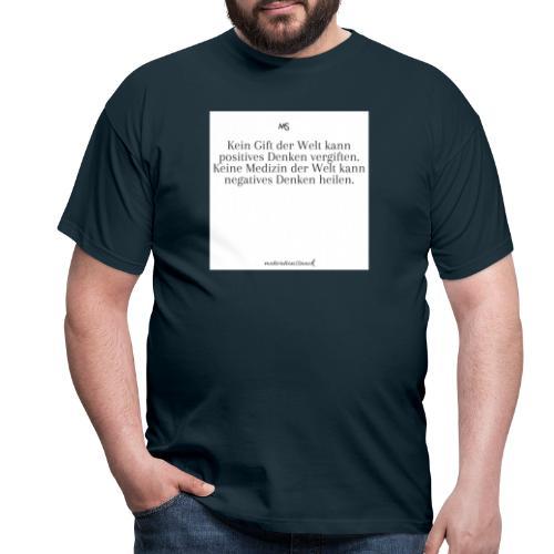Positiv - Männer T-Shirt