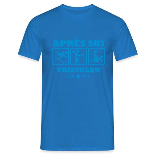 Apres Ski Triathlon | Apreski-Shirts gestalten - Männer T-Shirt