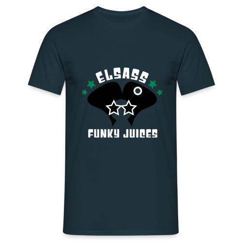 logo elsass 3 couleurs - T-shirt Homme