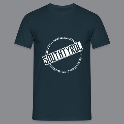 SouthTyrol Kreis weiß - Männer T-Shirt