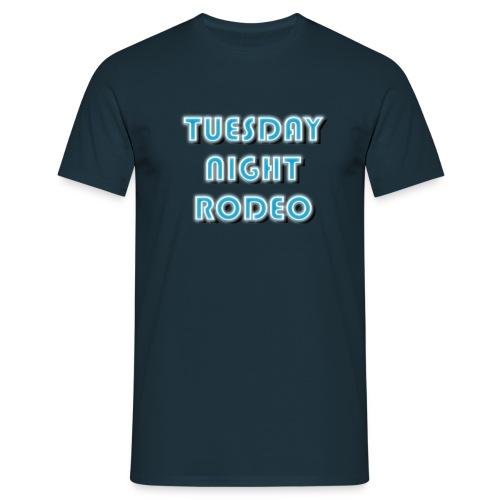 TNR 3 Line Logo - Men's T-Shirt