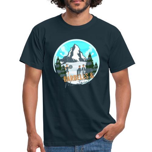 Barebells & Mountains - Männer T-Shirt