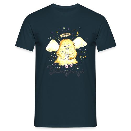 Flauschgoldengel - Männer T-Shirt