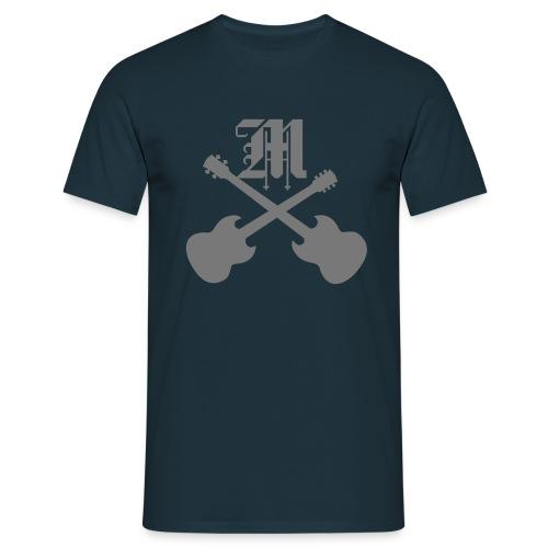 Mophead_M_Gitarre_Bass - Männer T-Shirt
