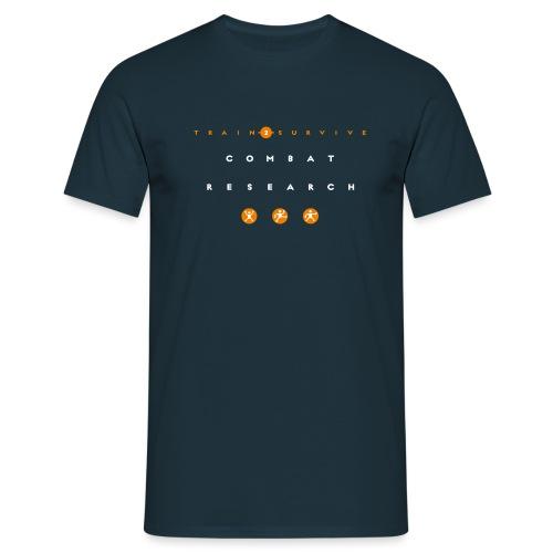 Combat Research trans - Männer T-Shirt