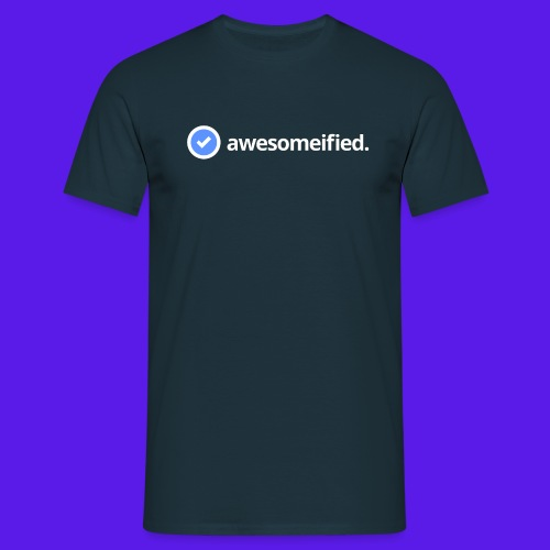 awesomefied png - Men's T-Shirt