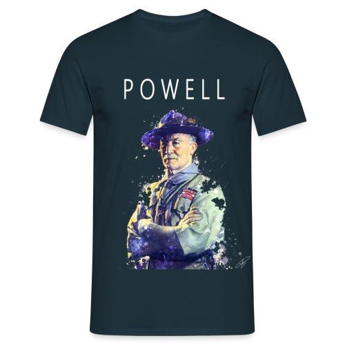Powell -blanc- - T-shirt Homme