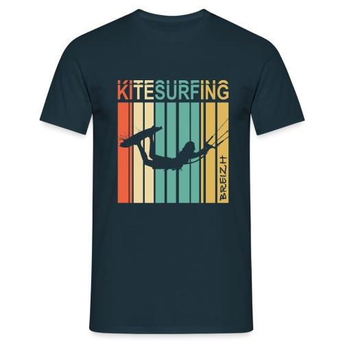 Kitesurfing Breizh - T-shirt Homme