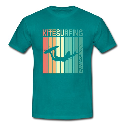 Kitesurfing GWADA - T-shirt Homme