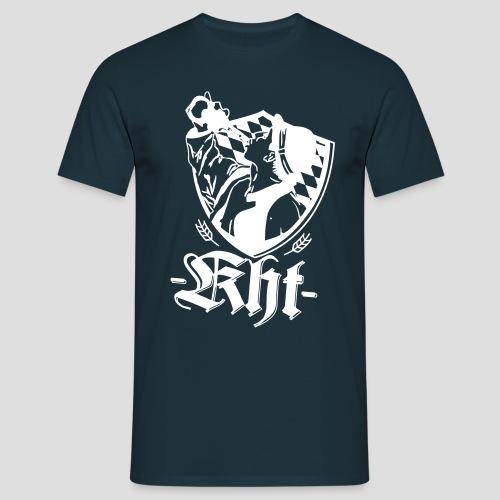 KHT Logo einfarbig - Männer T-Shirt