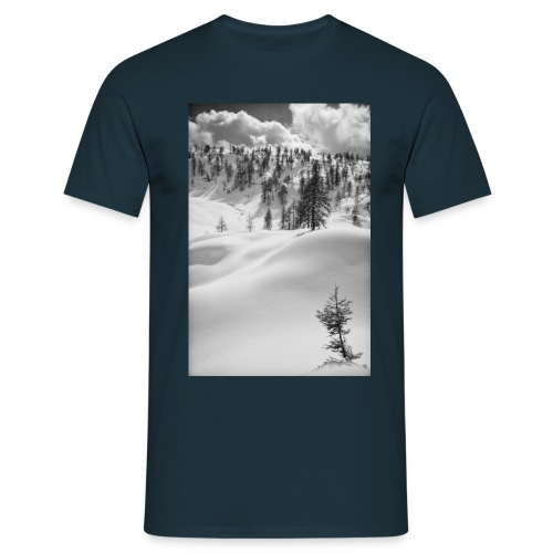 Winterlandschaft #1 - Männer T-Shirt