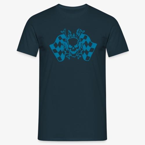 Racing Skull - Männer T-Shirt