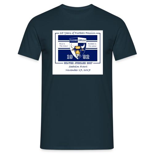 Silver-Jubilee_Seeheim - Männer T-Shirt
