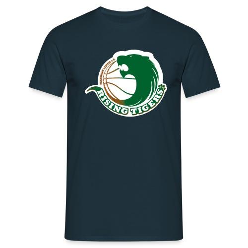 logo rising tigers farbig - Männer T-Shirt