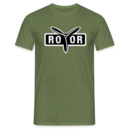 ROTOR Band Logo - Männer T-Shirt