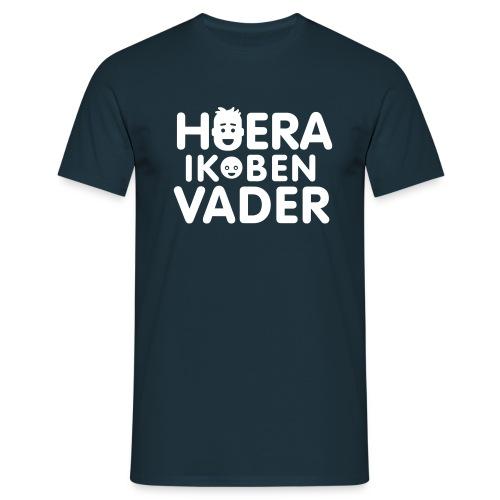 hoeraikbenvader - Mannen T-shirt