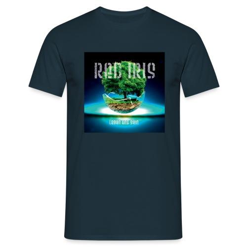Red Iris - Leben und Sein - Männer T-Shirt