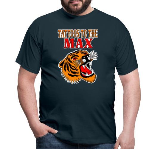 Tattoos to the Max - Tiger - Männer T-Shirt
