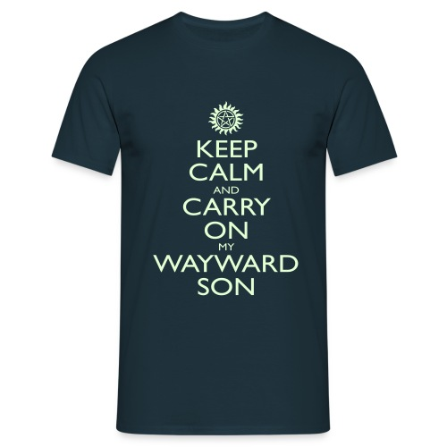 Keep calm (vector) Hoodies & Sweatshirts - Men's T-Shirt