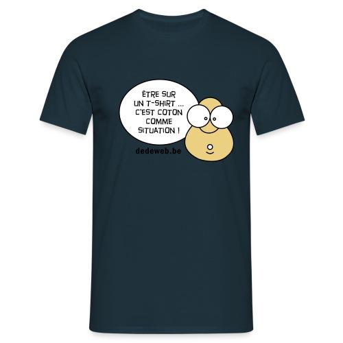 dedeteteai coton04 - T-shirt Homme