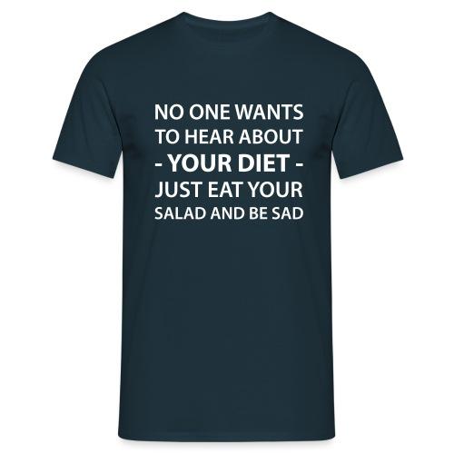 diet - Männer T-Shirt
