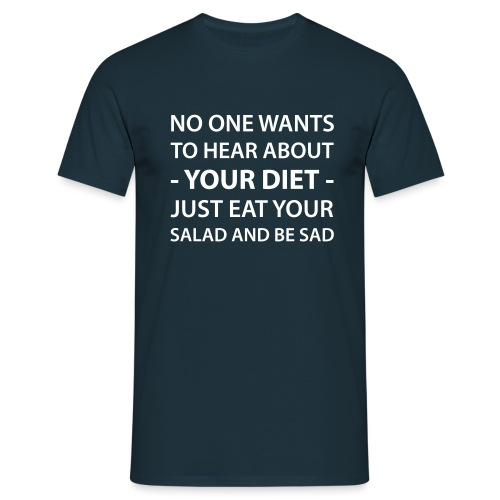 diet - Men's T-Shirt