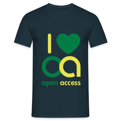 i love oa - Männer T-Shirt