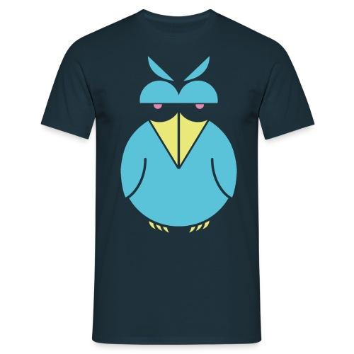 insolent bird blueneon png - Männer T-Shirt