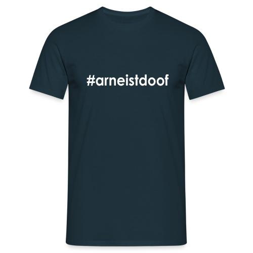 arneistdoof weiss png - Männer T-Shirt