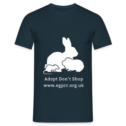 Adopt Don't Shop - Men's T-Shirt