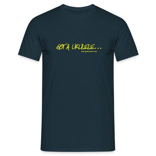Official Got A Ukulele website t shirt design - Men's T-Shirt