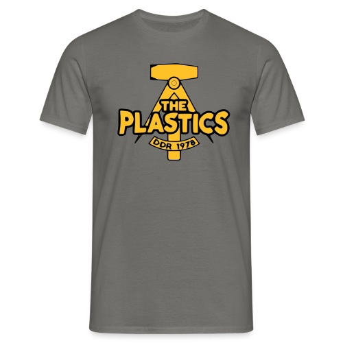 plastics_logo - Miesten t-paita