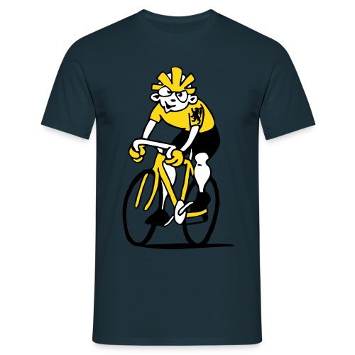 Cycliste Flamand - T-shirt Homme