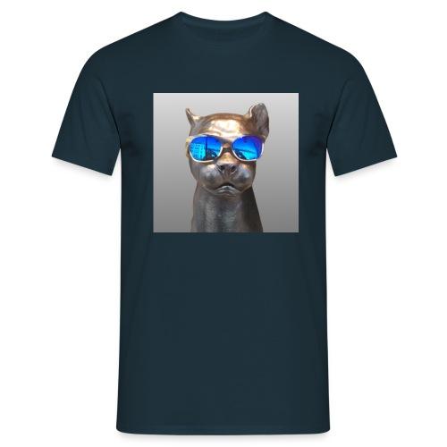 Panther-Coolness - Männer T-Shirt