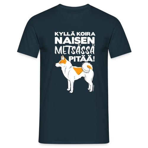 Pohjanpystykorva Metsaessae III - Miesten t-paita