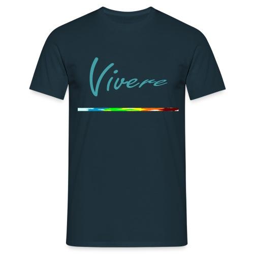 vivere_schriftzug - Männer T-Shirt