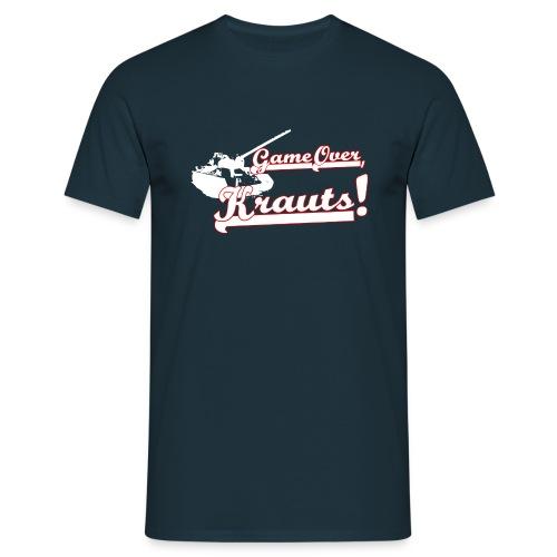 GOK weiß rot png - Männer T-Shirt