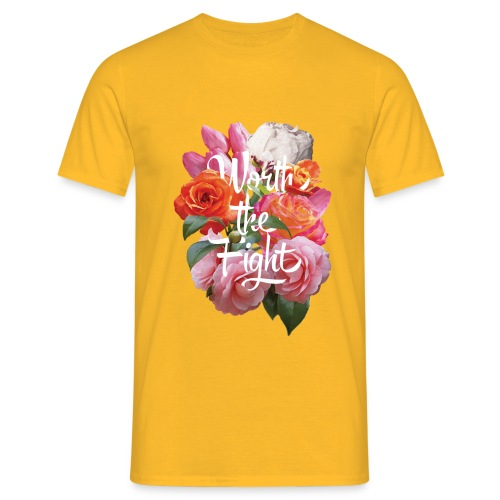 worth the fight - Men's T-Shirt