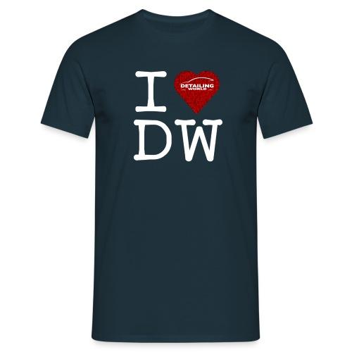 dw t shirt i love dw rev - Men's T-Shirt