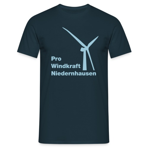 ProWindkraft Niedernhausen Logo - Männer T-Shirt