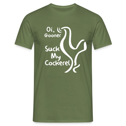 suckmycockerel1 - Men's T-Shirt