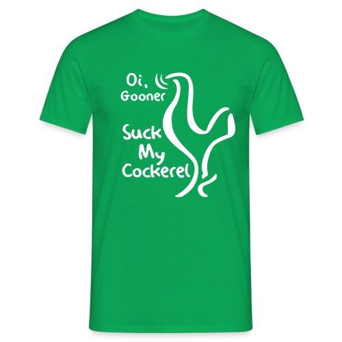 suckmycockerel1 - Men's T-Shirt