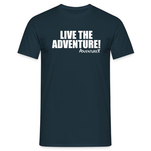 live the adventure - Men's T-Shirt