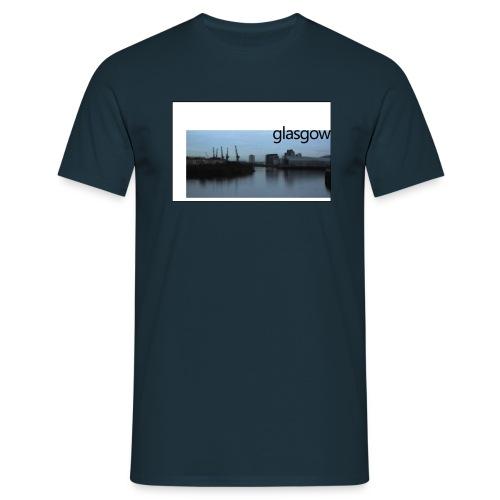 glasgow sansqm - Men's T-Shirt