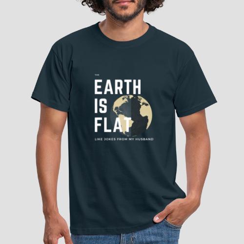 Flat Earth - Männer T-Shirt